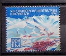 DDR 2105 ** Olympische Winterspiele INSBRUCK - Ansicht Von Insbruck - [6] République Démocratique