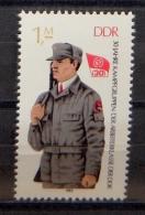 DDR 2824 ** 30 Jahre Kampftruppen - Angehöriger Der Kampftruppen - [6] République Démocratique