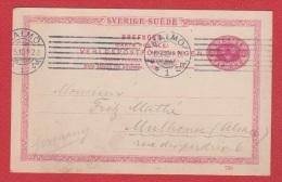 Suède  //  Entier Postal  //  De Malmö //  Pour Mulhouse  //  16/05/10 - Interi Postali