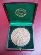 Ancienne Médaille Bronze Comice Agricole Des Cantons De Saint Marcellins Et Pont En Royans Signée Rivet - Sonstige