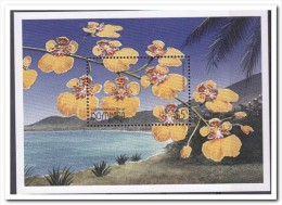 Dominica 1997, Postfris MNH, Flowers, Orchids - Dominica (1978-...)