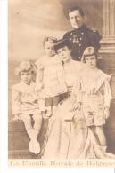 Carte-Photo-Belgique-Famille Royale- Le Roi Albert I Roi Des Belges- La Reine Elisabeth-Marie-Josée-Léopold Et Charles - Familles Royales