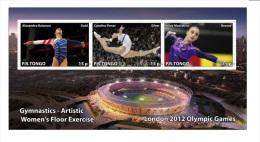 Olympische Spelen 2012 , P.R. Tongo - Souveniersblok  Postfris - Zomer 2012: Londen