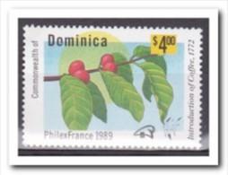 Dominica 1989, Plakker MH, Plants - Dominica (1978-...)