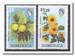 Dominica 1973, Postfris MNH, Flowers, Fruit - Dominica (1978-...)