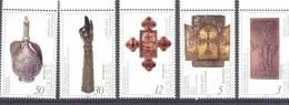 1994. Armenia, Treasures Of  Etschimiadzin, 5v, Mint/** - Armenia