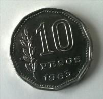 ARGENTINE -  10 Pesos 1963 - Superbe  - - Argentine
