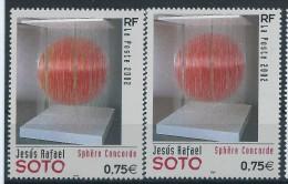 [12] Variété : N° 3535 Soto Sphère Sans Le Jaune + Normal ** - Varieteiten: 2000-09 Postfris