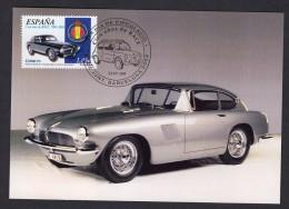 4.- 058 SPAIN ESPAGNE 2003. MAXIMUM CARD. CARS. VINTAGE CARS. Pegaso Z-102. Berlinetta Touring - Coches