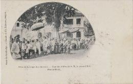 Fete De La Coupe Des Cheveux Une Des Filles De S.M. Le Second Roi Phnom Penh Edit Claude - Cambodge