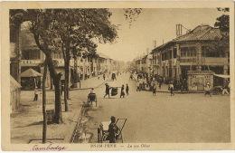 Phnom Penh La Rue Ohier Editeur Nadal - Cambodge
