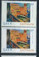 [12] Variété : N° 3497 Collioure Mur Du Balcon Vert Au Lieu De Brun  + Normal ** - Varieteiten: 2000-09 Postfris