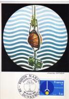 2941    Maxima   Francia Fondo Marino, Fonds Marine Dunkerque 1981 - Cartas Máxima