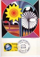 2941    Maxima   Francia  Energiza Renovables, Energies Nouvelles  Nandy   1981 - Cartas Máxima