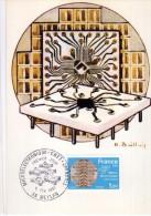 2941    Maxima   Francia  Microeletronique Meylan ,  Chips    1981 - Cartas Máxima