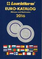 EURO Katalog Deutschland 2016 Für Münzen Numisblätter Numisbriefe Neu 10€ Mit €-Banknoten Coin Numis-catalogue Of EUROPA - Chroniques & Annuaires
