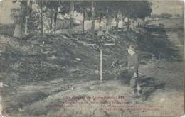 La Guerre En LORRAINE En 1914 - CPA -  Une Tombe Française Près De La Route De Rehainviller - Frankreich