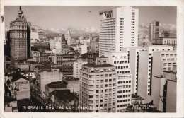 BRASIL - SAO PAULO - PANORAMA, Gel.1956, 3 Marken - São Paulo