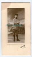 Photo Sur Carton D´un Militaire, 86, 88, 68 Ou 66 Sur Col, Photograhe J. Bioletto, Lyon - Guerre, Militaire