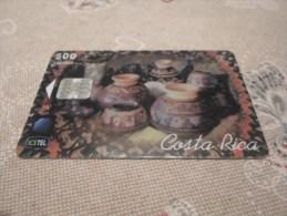 COSTA RICA  - nice phonecard as on photo