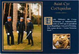 QUER (56) - Ecoles Militaires De Saint-Cyr Coëtquidan - Uniformen