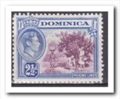 Dominica 1938, Plakker MH, Fruit, Limes - Dominica (1978-...)