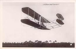 "AVIONS Précurseurs  - L'AEROPLANE "" WRIGHT "" - CPSM Photo Format CPA - - ....-1914: Voorlopers"