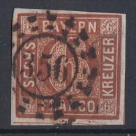 Bayern Minr.4 Gestempelt Nr.-St. 356 Nürnberg - Bayern