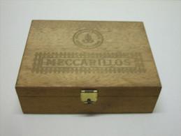 BOÎTE à CIGARES En Bois 50 MECCARILLOS Vide - Étuis à Cigares