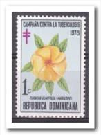 Dominicaanse Republiek 1978, Postfris MNH, Flowers - Dominicaanse Republiek