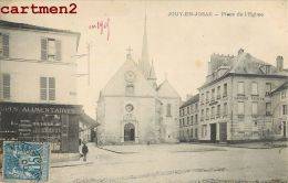 JOUY-EN-JOSAS LA PLACE DE L'EGLISE 1900 - Jouy En Josas