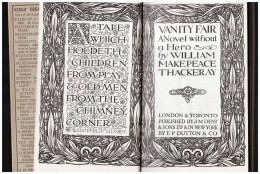 Everyman´s Library Edited By VANITY FAIR Vanity Fair 298 M Thackeray - Non Classificati