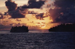 Micronesia Phonpei Sunset Scene - Micronesia