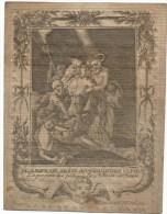 271.  PETRUS - JOSEPHUS PERILLEUX  -  JESSEREN 1819 (70 J.) - Imágenes Religiosas