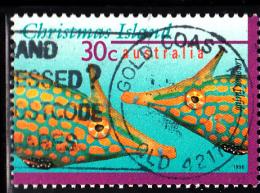 Christmas Island Used Scott #382 30c Longnose File-fish - Christmas Island