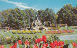 New York Albany Washington Park Moses Monument 1959