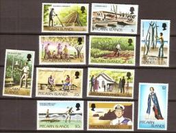Pitcairn Islands 1977 Yvertn° 161-171 *** MNH Cote 9 Euro - Pitcairn