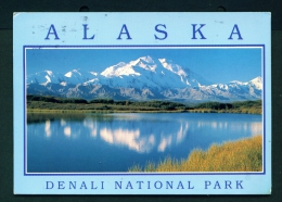 USA  -  Denali National Park  Used Postcard As Scans - United States