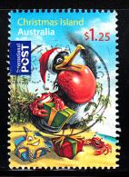 Christmas Island Used Scott #482 $1.25 Frigatebird As Santa - Christmas - Sheet Stamp - Christmas Island