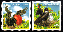 Christmas Island Used 2010 Issue 2 60c Frigatebirds - WWF - Christmas Island