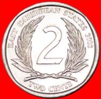 ★ROUND: EAST CARIBBEAN ★ 2 CENTS 2002! LOW START ★ NO RESERVE!!! - Caribe Oriental (Estados Del)