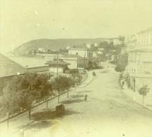 France Vacances En Cote D'Azur Bords De Mer Ancienne Photo Amateur Stereoscope Pourtoy 1900 - Stereoscopic