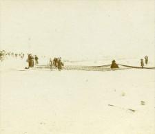 France Vacances En Cote D'Azur A La Plage Ancienne Photo Amateur Stereoscope Pourtoy 1900 - Stereoscopic