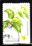 Christmas Island Used 2013 Issue 60c Colubrina Pedunculata - Booklet Stamp - Christmas Island