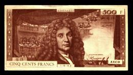 500 Francs Molière (billet Scolaire ASCO) - Fictifs & Spécimens