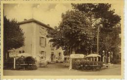 Davayé (71) - CPSM Bistre La Patte D'oie Près Solutré - Le Café Restaurant - Other Municipalities