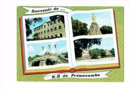 Cpm 30 - FONTANES - Souvenir De N.-D. De Primecombe - Livre Ouvert Multivues - 1970 - - France