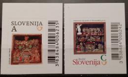 Slovenia, 2013, Mi: 1033/34 (MNH) - Navidad