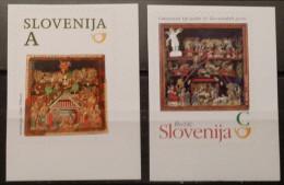 Slovenia, 2013, Mi: 1035/36, From Booklet (MNH) - Navidad