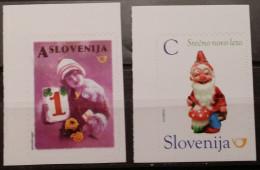Slovenia, 2013, Mi: 1039/40, From Booklet (MNH) - Año Nuevo